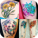 Watercolor Tattoo Ideas by Easy Style Design App