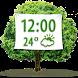 Nature Weather Clock Widget by Super Widgets