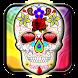 Sugar Skull Wallpaper by My Live Wallpaper