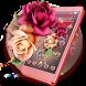 Flourishing Garnet Rose Theme by stylish android themes