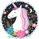 Unicorn Cartoon Theme by Cool Theme Love