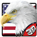 3D American Eagle Soar Theme