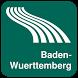 Baden-Wuerttemberg Map offline by iniCall.com