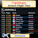 Copenhagen Airport Flight Time by AsoftTech Solutions