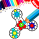 Coloring Book Fidget Spinner Free by Duality Studios