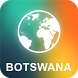 Botswana Offline Map by EasyNavi