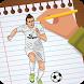 Draw Lionel Messi 3D by Spindel SPI