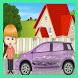 Elsa Car Wash & Repairing Shop by g2Kids Studio