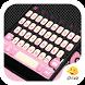 Kitty Pink Bow Keyboard Theme by My Photo Keyboard Team