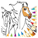 Coloring Book For Spirit Stallion by Color Paint