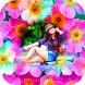 Nature flower photo frames by Photo Frame Apps