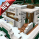 Modern Redstone House MCPE map by Sumin Collinse