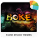 BOKE Xperia Theme by Stark Studio