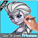 How To Draw Princess Characters by 3dDraw