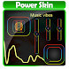 Music vibes Poweramp Skin by New skin for com.maxmpz.audioplayer.skin