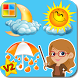 Weather & Season Flashcards V2 by KidsEdu studio