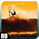 Surfing Waves Wallpaper by GalaxyLwp