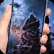 Demon grim Reaper lock screen desktop by Cool Theme Creator