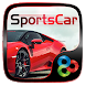 Sports Car Go Launcher Theme