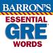 Barron's Essential GRE Words by gWhiz