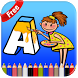 ABC Coloring Pages For Kids by ARPAplus