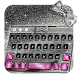 Silver Bow Keyboard by Keyboard Theme Factory