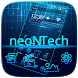 Neon Tech Theme by Work shop and studio
