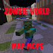 Zombie World Minecraft Pe Map by lunixPR