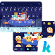 Santa Claus Animated KikaTheme by Best Theme Keyboard for Android