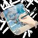 Blue jasmine GO Keyboard by GO Themes