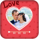 Love Hearts Photo Frame Editor by Perfect Video Apps