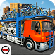 Car & Bike Cargo Truck Transporter City Driver by Big Bites Games