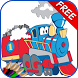 Train Coloring Book For Kids by PalmeraPublishing