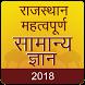 Rajasthan GK 2018 Hindi , RPSC