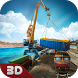 Cargo Crane and Train Driver by Life Sim Games