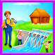 Village Farm Dam Repair: Fix It Construction Game