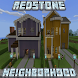 Redstone Neighborhood Map for McPE by MartikModsInc