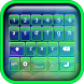 Light Neon Green Keyboard by Abrassi Design Apps