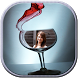 Wine Glass Photo Frame by MOBiDroid