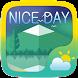 Nice Day Weather Widget Theme by GOMO Go