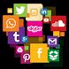 All Social Media by All in One Social App