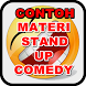 Contoh Materi Stand Up Comedy