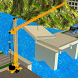 River Bridge Road Construction Crane Simulator by PalmGames