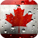 Canada flag - live wallpaper