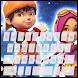 Super B'boy Galaxy Keyboard by Dewinda Apps Theme