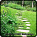 Garden Walk Path Design by Lisensedroid