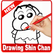 learn drawing Shin Chan by Solutions Dev