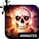 Savage Skull Animated Keyboard by Wave Keyboard Design Studio