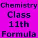 Class 11 Chemistry Formulas by OM ASHISH KUMAR