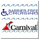 Barrier-Free Carnival Cruises by TARGETED Apps
